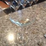 Cognac beads afloat