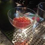 House-made Cognac beads await