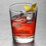Cognac Sazerac cocktail