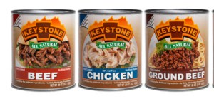 Just a few of Keystone Meats products