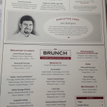 The full Maggiano's brunch menu