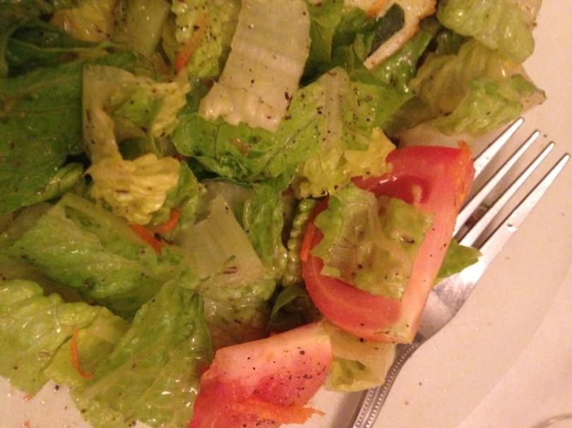 Italian-dressed salad