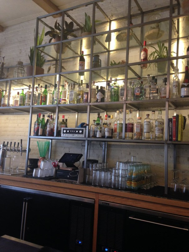 Unique bar at Herbarium at Bad Hunter