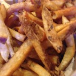 Jake's French fries - skin-on and crispy