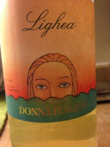 Donnafugata Lighea - unique Zibibbo grape wine