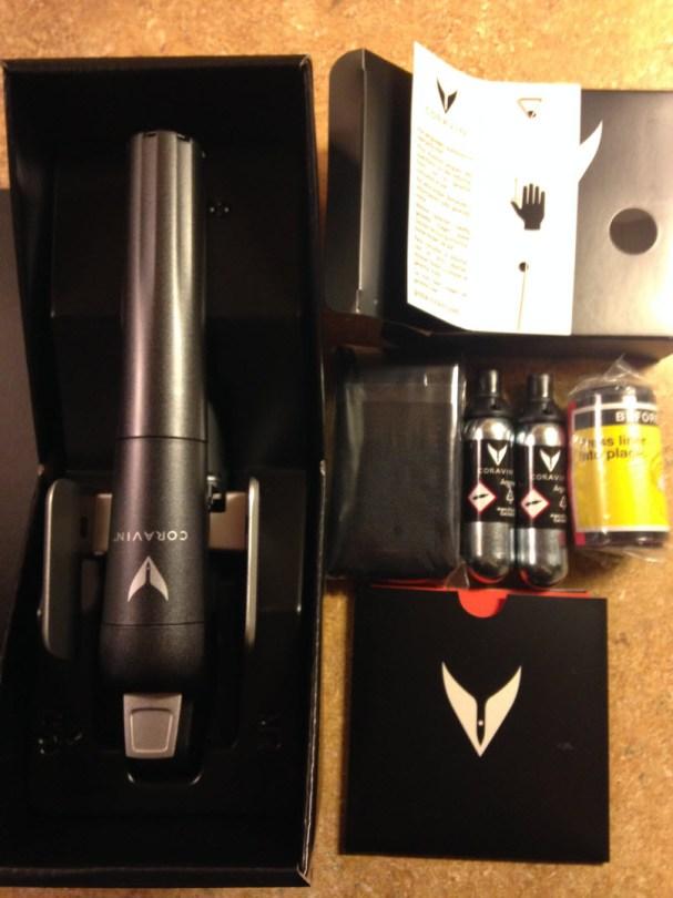 Coravin wine saver system