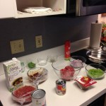 Ready to cook in suite