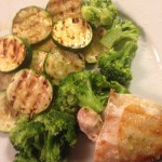 Masterpan grilled chicken n veg - more challenging than breakfast