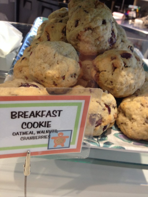 """It says """"Breakfast"""" but happily, it's still a WB cookie!"""