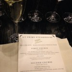 GT Prime menu pairings for Sonoma wines
