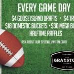 Graystone Tavern specials