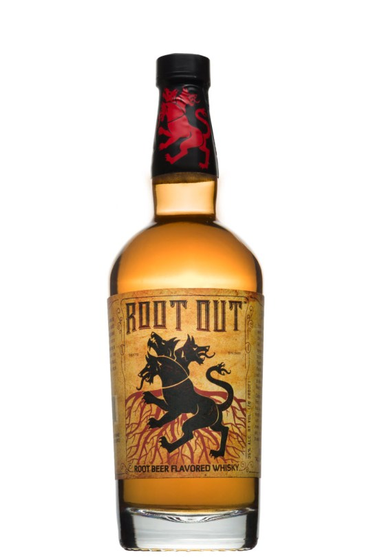 Root Out root-beer-flavored whisky