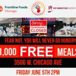 Today June 5 1,000 free meals