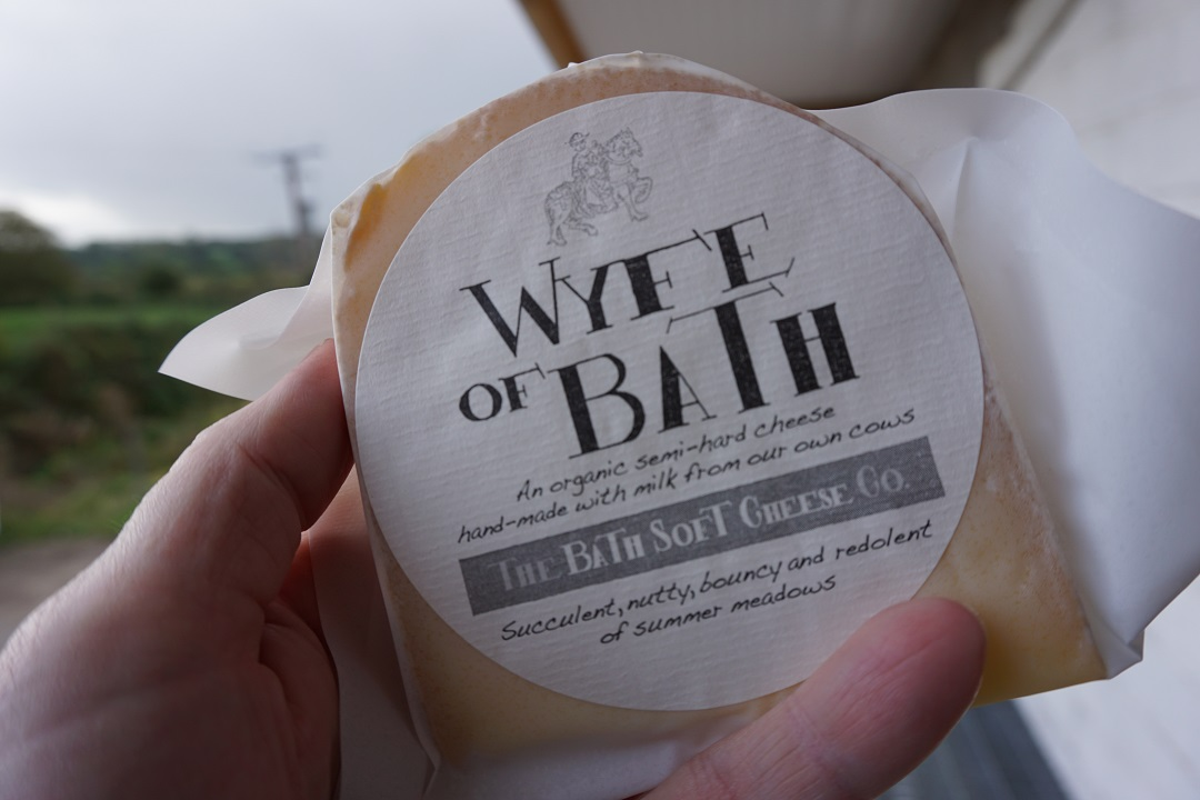 Somerset food and drink Wyfe of Bath cheese