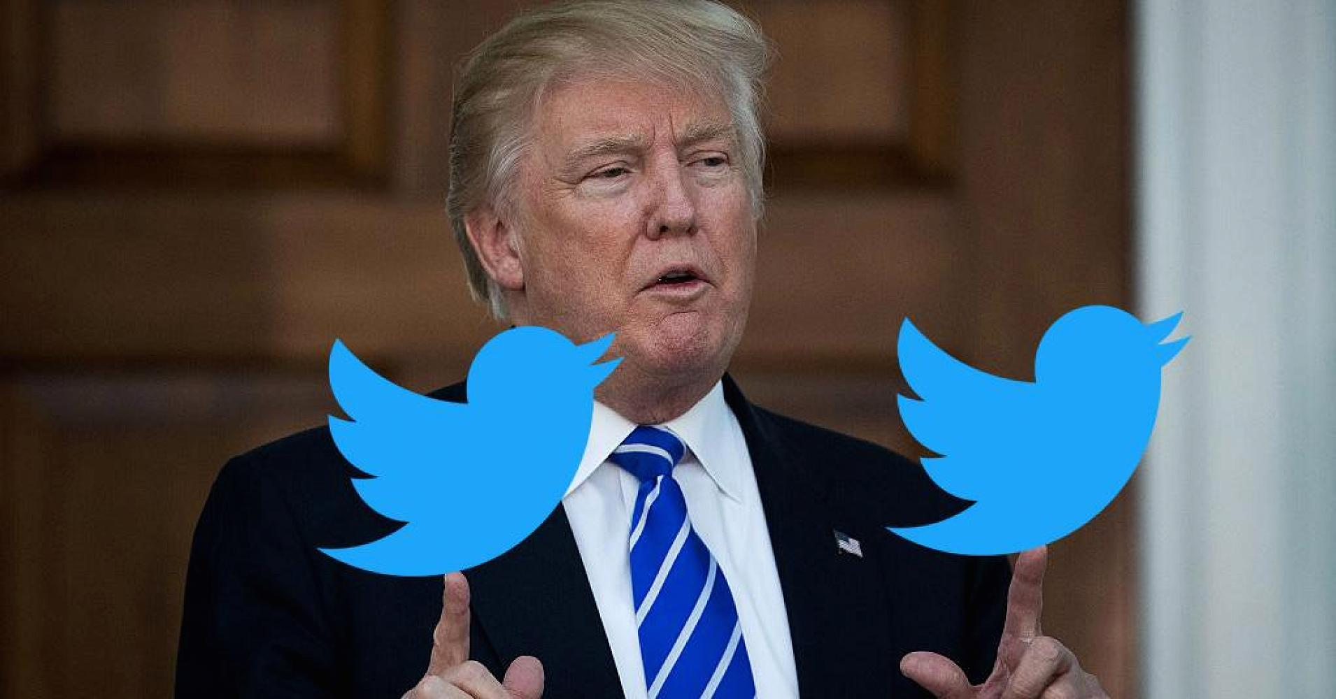 Trump's Twitter Storm; Blasting Democrats over government shutdown