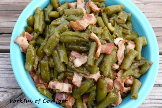 Bacon Braised Green Beans 2