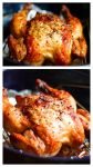 Crispy Garlic Roasted Chicken