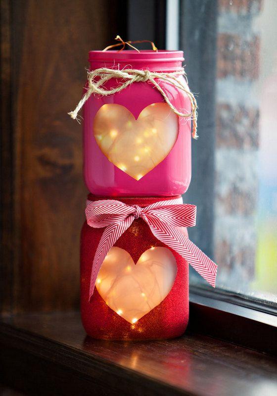 No Hassle Cute DIY Valentines Decor