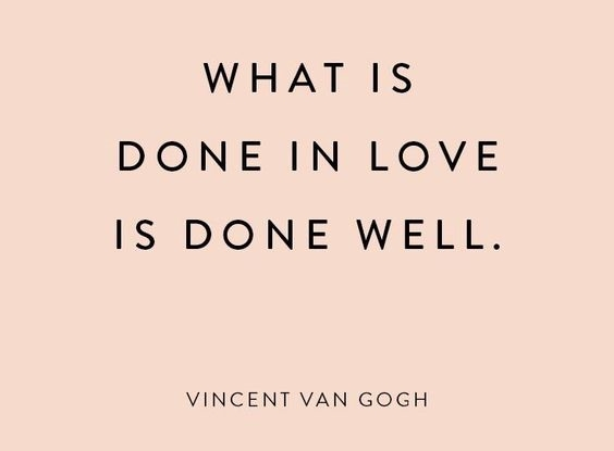 What Is Done In Love Is Done Well! 86 simple Acts to show LOVE!