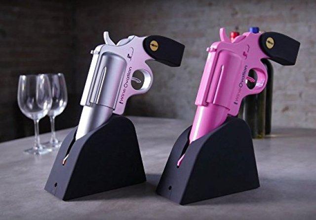WineOvation Gun Electric Wine Opener