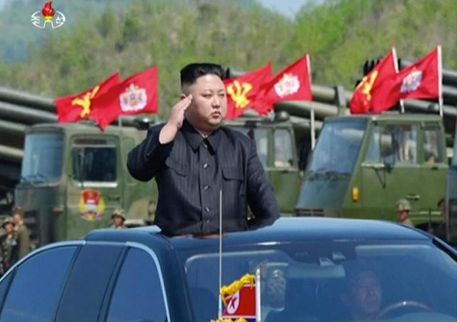 PHOTOS; North Korea conducts largest ever artillery military drill