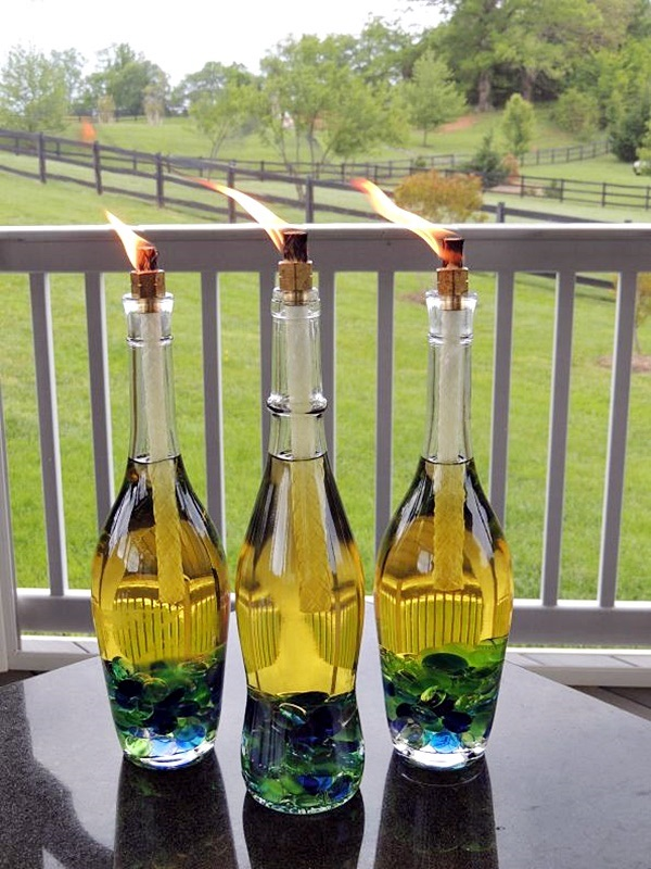 Recycle Old Wine Bottles