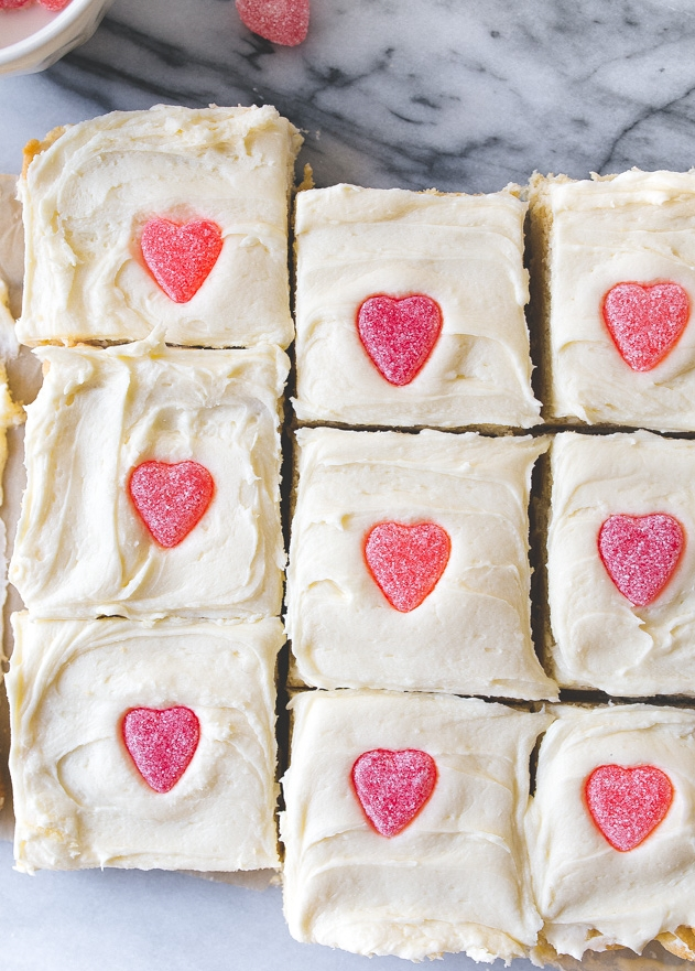 Sugar Cookie Bars~Valentines