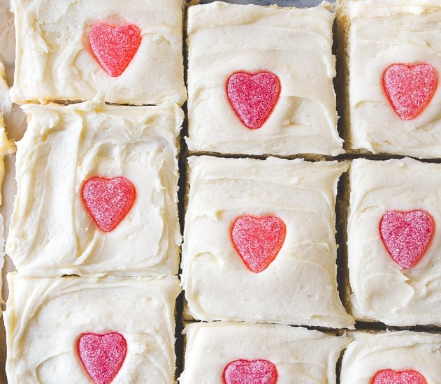Sugar Cookie Bars~Valentines