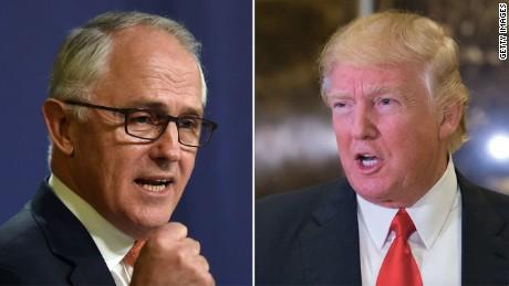 Trump blames dust-up over Australia PM call on 'fake news media'