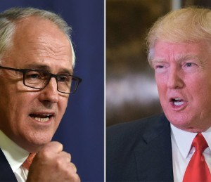 Trump blames dust-up over Australia PM call on 'fake news media'