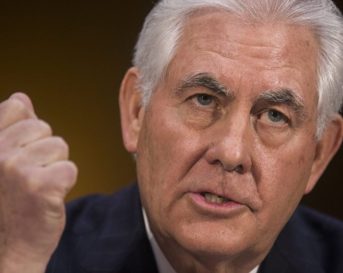 Senate approves Rex Tillerson for secretary of State