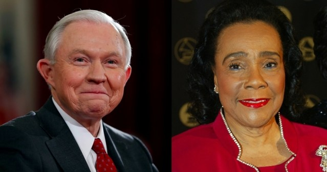 VIDEO: Coretta Scott King Thanks Jeff Sessions for Rosa Parks Library