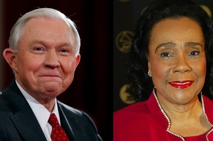 VIDEO: Coretta Scott King Thanks Jeff Sessions for Rosa Parks Library