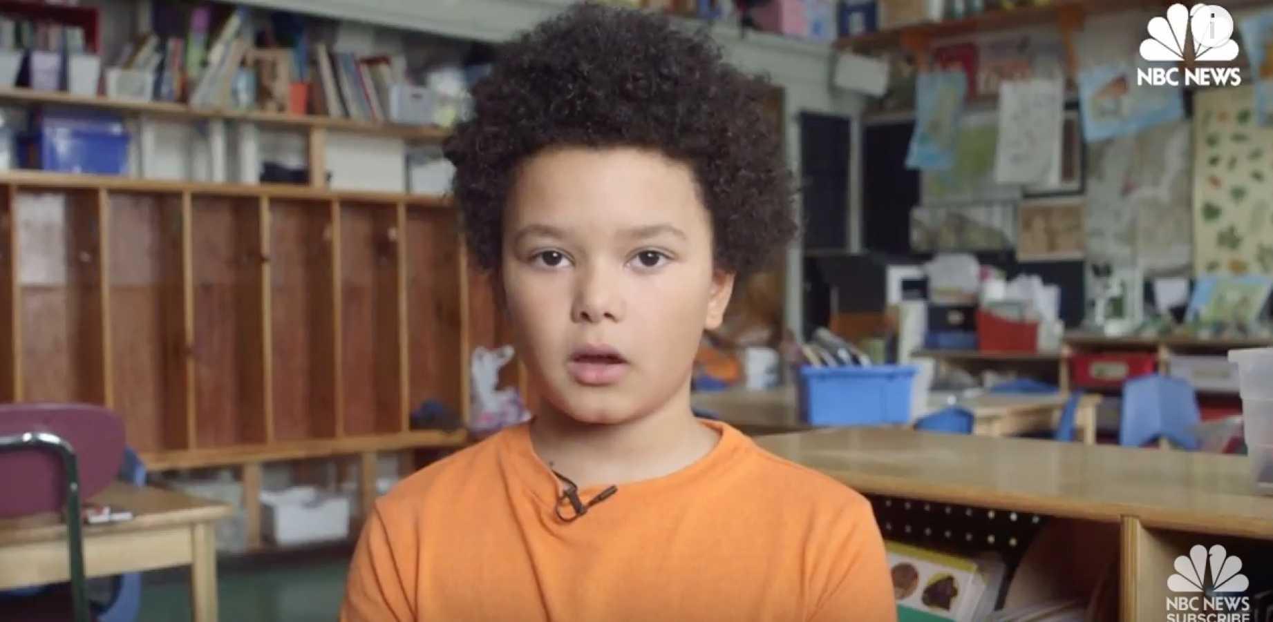 NBC Releases Two Propaganda Videos Featuring Children Attacking Trump