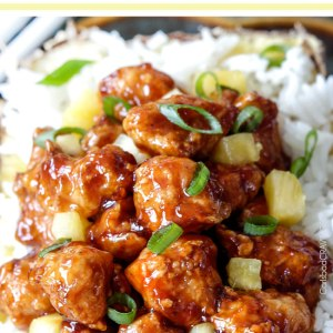 Baked Pineapple Ginger Chicken