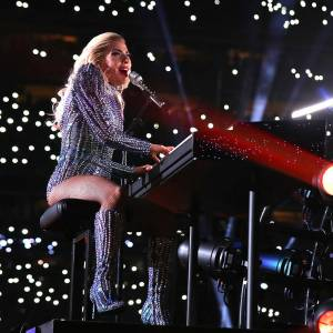Lady Gaga avoids politics at Super Bowl halftime show