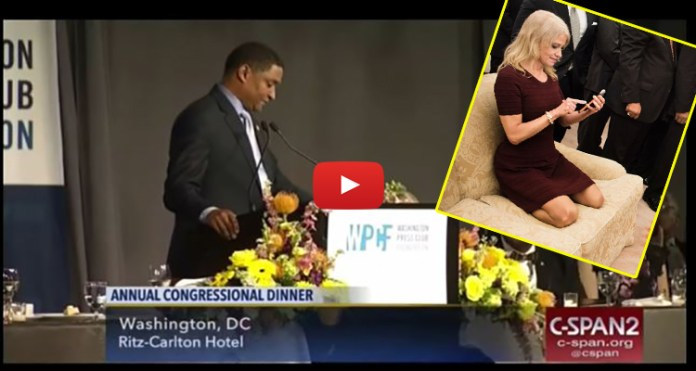 VIDEO: Democratic Congressman Makes Vile Sexual Joke About Kellyanne Conway