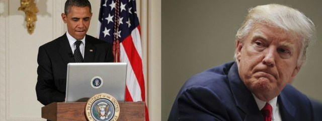 President Trump; Obama wire tapped Trump Tower just before election victory