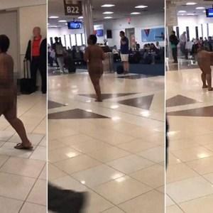 Naked Woman Strolls Through Atlanta Airport