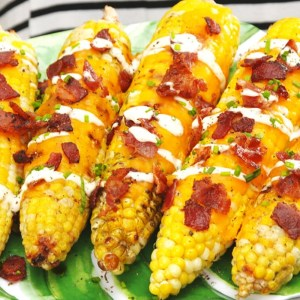 Cheddar Bacon Ranch Corn