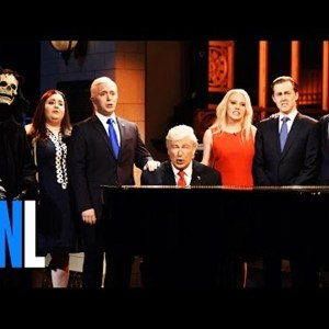 SNL's Season Finale Holds A Funeral For Trump Presidency