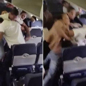 Fight breaks out on Southwest Airlines flight; Lands one passenger in jail