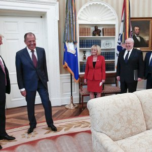 Trump Told Russians That Firing 'Nut Job' Comey Eased Pressure From Investigation
