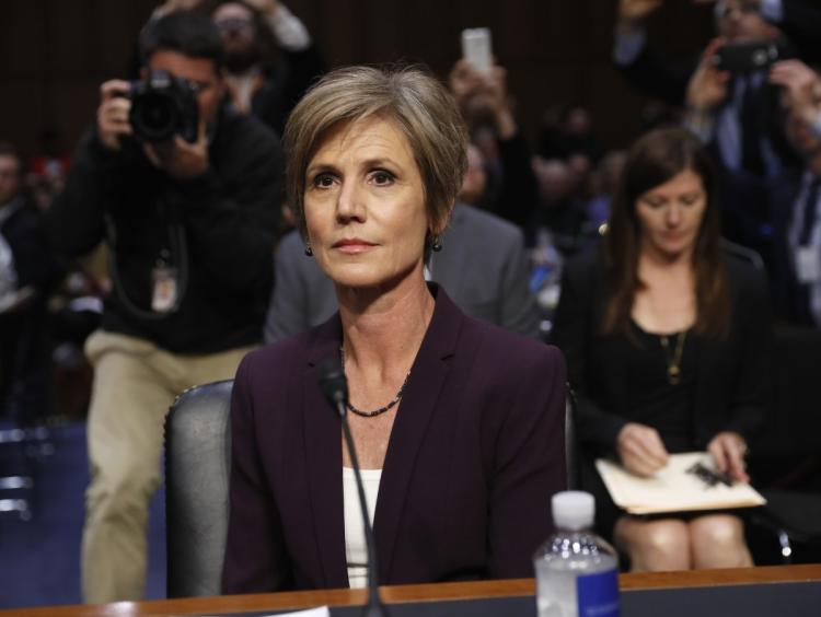 "Sen Kennedy to Sally Yates: ""Who appointed you to the Supreme Court?"""