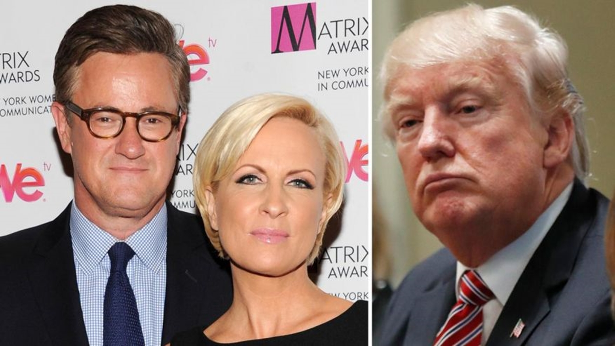 Trump, MSNBC's Morning Joe and Mika Go After One Another On Twitter