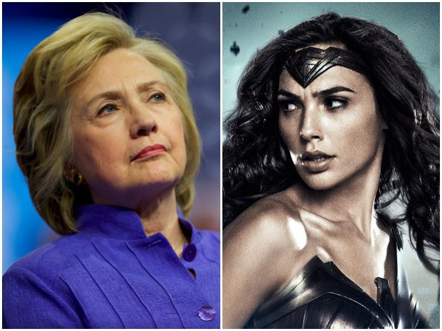 Hillary Clinton Compares Herself To Wonder Woman