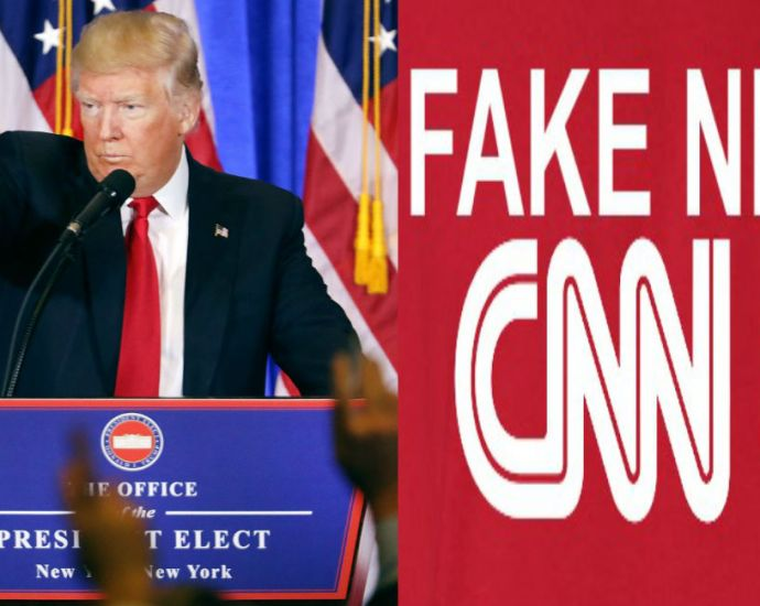 CNN PR Team Argues With President Trump On Twitter