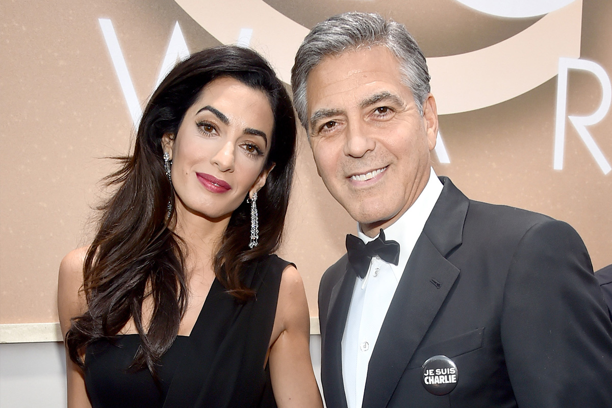 George Clooney Is a Dad! Amal Clooney Gives Birth to Twins Alexander and Ella