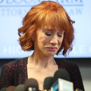 Kathy Griffin Uses Mika Trump Feud To Play The Victim