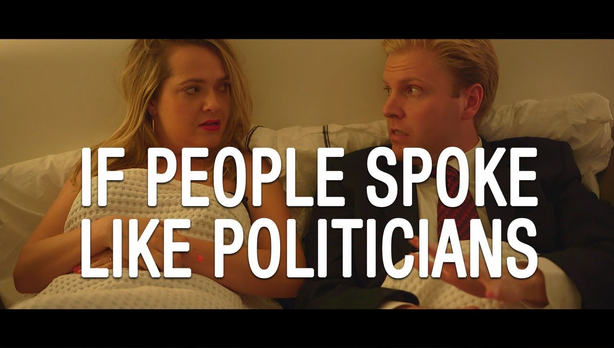If Regular People Spoke Like Politicians